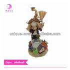 Autumn decoration scarecrow resin model kit figures