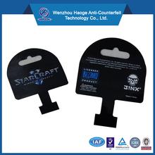 High quality printing wobble card