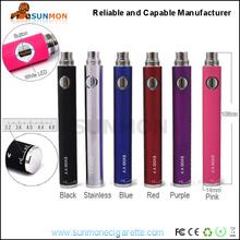 High quality electronic cigarette evod batery 1100mAh evod twist battery e cigarette