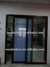 hanging screen sliding door/glass sliding doors/interior french doors sliding