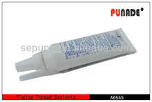 One component waterproof acrylic clear liquid thread sealant