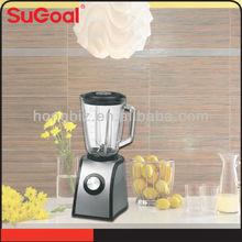2014 Sugoal glass jar stainless steel blender bottle wholesale fruit smoothie makers