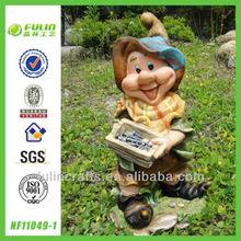 Handmade Custom Yard Gnome Resin Elf Figures