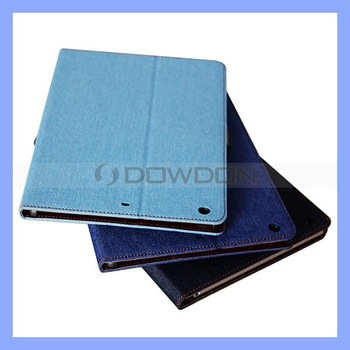 Denim-Jean Series Wallet Flip Stand Cover Case for Apple iPad Air iPad 5