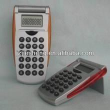 2013 vente chaude flip couverture calculateur de cadeau promotionnel avec 8 chiffres