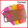 Wholesale s shaped soft case for iphone 5 tpu case