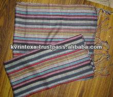 cotton stripe scarf 2012