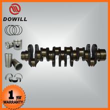 China diesel engine excavator crankshaft fit for MITSUBISHI 6D16