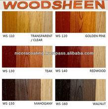 Nicora WoodSheen (Water Borne), Wood Colour Varnish, water based paint, art