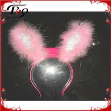 easter day flashing bunny ear headband