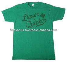 Liquor is Quicker T-Shirt 100% Cotton