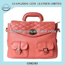 Vintage Blouse Double Pockets Korean Sweetest Satchel Bag Woman Handbag Bolsos Bolsas