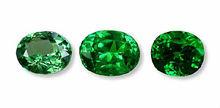 Loose Single pieces of Green Garnet, Tsavorite Garnet - Originated from Africa