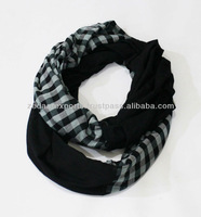 Patch infinity scarves loop scarves super soft circle scarf