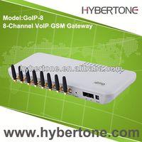 8 channels 32 sim cards gsm gateway