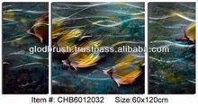 2014 Hot Modern Metal Fish Wall Art Crafts Home Decoration Handmade Wall Hanging Gifts