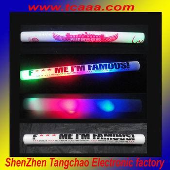 color changing led foam stick baton China wholesale