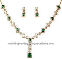 octogen cut emerald necklace design,best emerald jewery set in eight corner shape,long emerld designer necklace for women