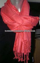 100% viscose pashmina cashmere scarf shawl