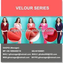 velour cosmetic bag