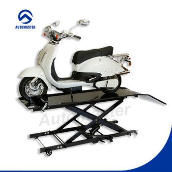 LT0202-800 800lbs Motorcycle Scissor Lift Platform Jack