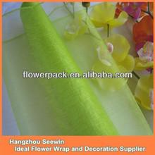 Sewing Edge Silk Organza Fabric Yard Decoration