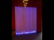 color changing fiber optic curtain