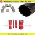 Precio competitivo de diamante núcleo hilti taladradoras/agujereadoras/brocas segmento para el hormigón