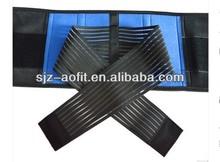 Adjustable AFT- y010 neoprene back support belt/back straightening support belt/orthopedic back support belt