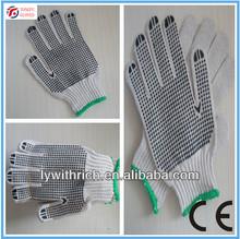 pvc dot work gloves ,cotton work glove,working glove