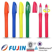 Ball-point pen and Highlighter in 1pen/transformation pen/ school & office /NEW 2013