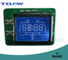 Auto seat LCD screen blue LED backlight wide operation temperature Rohs approval