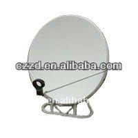 ku band satellite dish antenna high quality wall dish antenna75cm