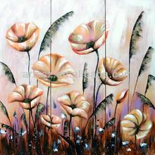 Flower 3 panels oil painting brands canvas art