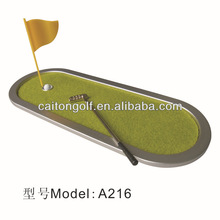 golf putting green mini green mini golf divot, golf ashtray, golf accessary
