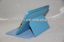 PU case for ipad mini and cover for ipad mini 2 for ipad mini cover with Two-folded design