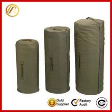 Practical military canvas duffel bag