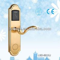 electronic swipe key card door lock