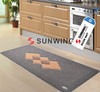 Custom welcome door mat/non-slip of custom size bath mat