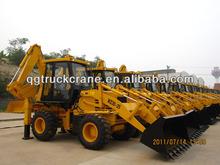 Qingong mini wheel loader backhoe WZ30-25 with Cummins Engine/Load capacity:2500kg