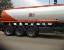 3 axles 40-60cbm Venezuela fuel tank truck trailer