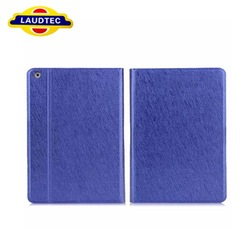 2013 New Arrival Hot Sale Leather Case for iPad Air Ultra Thin Magnetic Smart Cover Sleep and Wake Up Laudtec