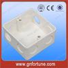 Hotsale Outdoor Decorative Plastic 3X3 PVC Box
