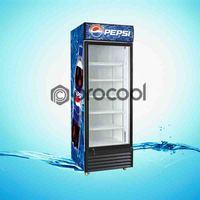 promotional 650L pepsi refrigerator commercial cooler for beverage