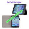 Flip Leather Cover for iPad Mini Retina with Card Slots and Armband