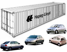 Toyota Hybrid Economic Cars in Container [6 cars] [Right-hand Drive]