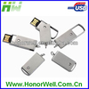 swivel usb flash disk 512MB customized logo for gift or use