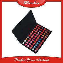 66 color waterproof no logo lip gloss custom cosmetics wholesale