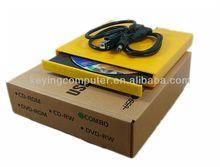 12.7mm External USB 2.0 slim CD/DVD RW Drive