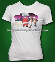 Christmas T-Shirts 100% cotton with printed of SERIOUSLY NO MORE EGG NOG FOR SANTA SHIRT